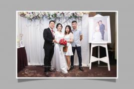 In ảnh tại tiệc cưới HCM