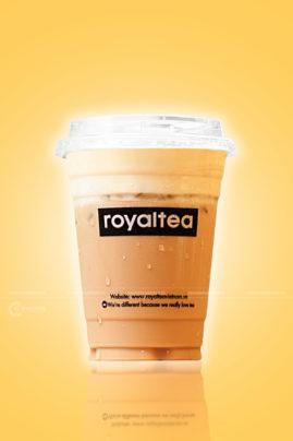 Chụp hình trà sữa Royaltea