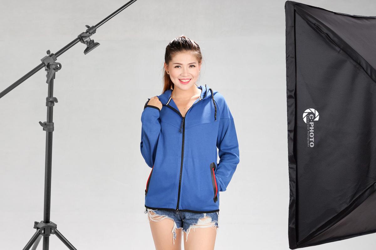 Chụp hình áo khoác