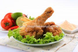 Chụp hình đùi gà rán - Chụp hình món ăn chuyên nghiệp