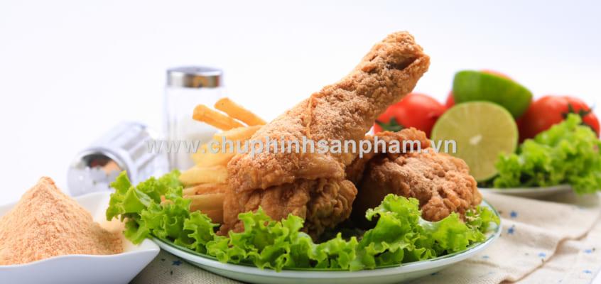 Chụp hình đùi gà rán – Chụp hình món ăn chuyên nghiệp