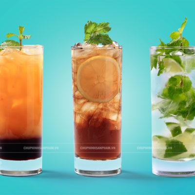 Chụp hình nước uống Soda