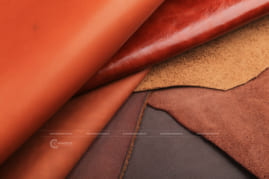 Chụp hình da bò - Leather Photograp