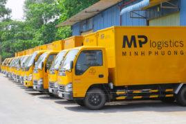 Chụp hình đội xe vận tải