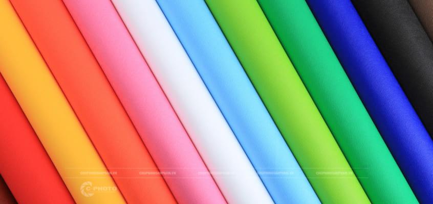 Chụp hình sản phẩm vải không dệt Đồng Việt Phú