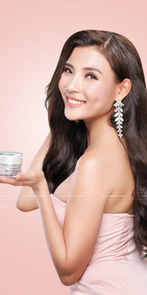 Chụp hình Beauty - Quảng cáo mỹ phẩm với người mẫu