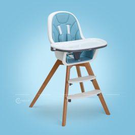 Chụp ảnh sản phẩm ghế ăn em bé nhãn hiệu Kub