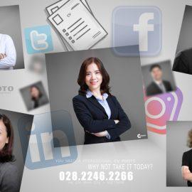 Chụp hình CV chuyên nghiệp – Resume – Profile – 028.2246.2266