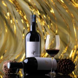 Hình ảnh chai rượu vang đẹp lung linh