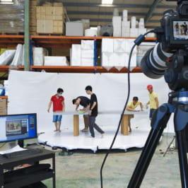 Chụp ảnh xoay sản phẩm – 360 Degree Product Photography behind the scenes