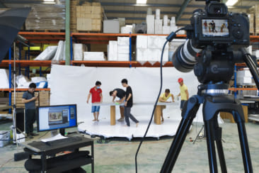 Chụp ảnh xoay sản phẩm - 360 Degree Product Photography behind the scenes