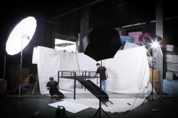 Studio di động chụp ảnh nội thất tại Bình Dương