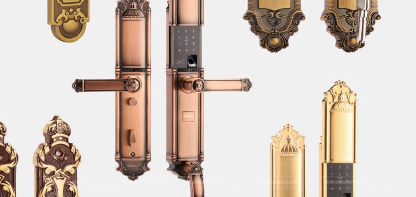 Chụp hình sản phẩm khóa cửa thông minh – Smart Lock